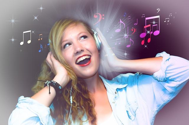 Concept de technologie d'encodage MP3