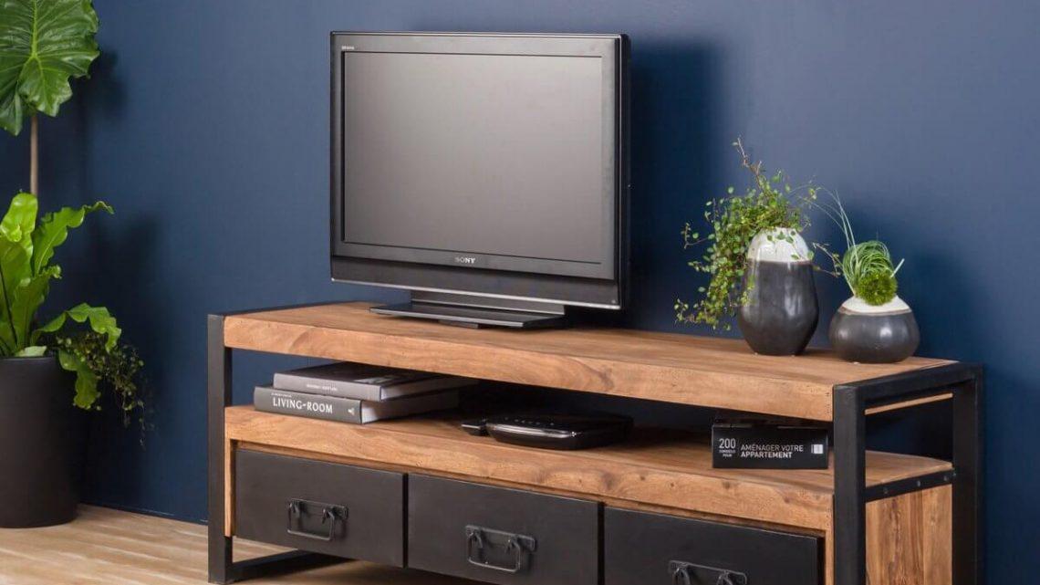 Pourquoi choisir un meuble TV industriel ?