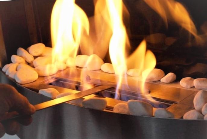 La cheminéeéthanol :les avantages d'une cheminée sans ses inconvénients !